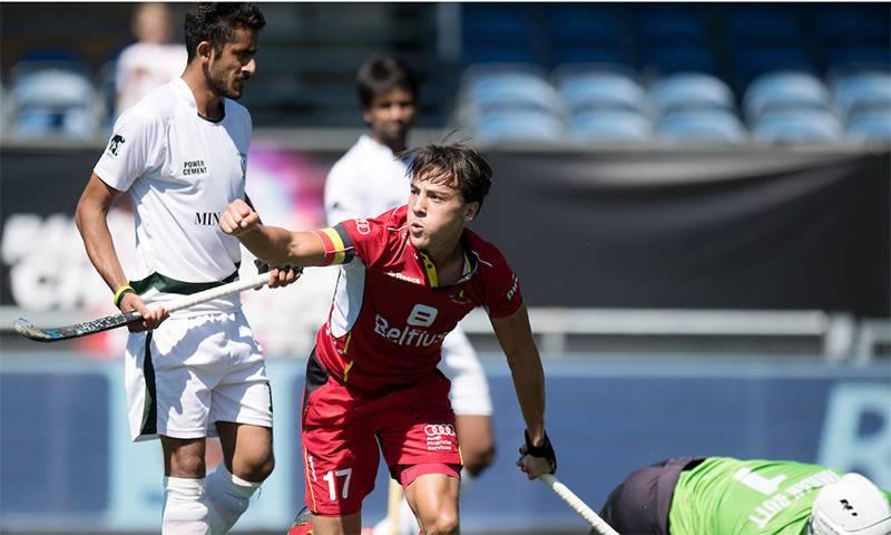 پاکستان کو چیمپیئنز ٹرافی میں چوتھی شکست، بیلجیئم کامیاب