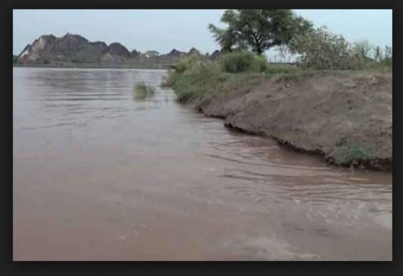 سیالکوٹ :دریائے چناب میں نچلے درجے کا سیلاب آگیا