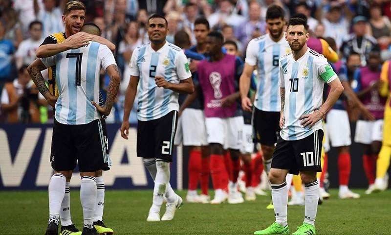 میسی کی ارجنٹائن ورلڈ کپ سے باہر،فرانس کوارٹر فائنل میں