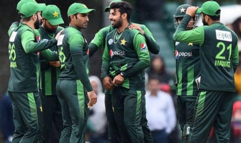 پاکستان نے زمبابوے کو 74رنز سے شکست دیدی