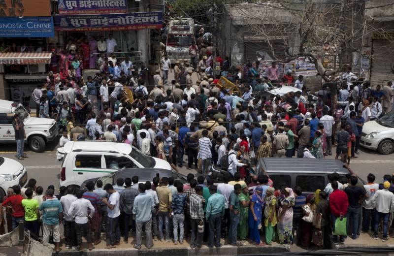 بھارت کے شہر نئی دہلی میں ایک گھر سے 11لاشیں برآمد