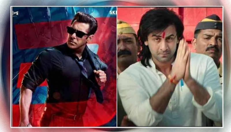 فلم سنجو نے سلمان خان کی ریس 3 کی بھی چھٹی کرادی