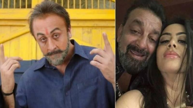 سنجے دت کی بیٹی اپنے والد کی زندگی پر بننے والی فلم سنجو سے ناخوش
