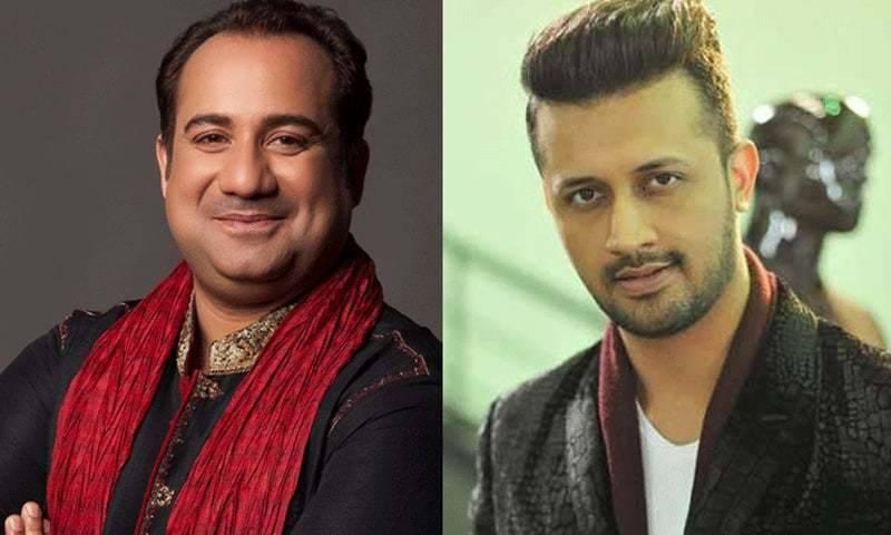 'نمستے انگلینڈ' میں عاطف اسلم اور راحت فتح علی خان کی آواز