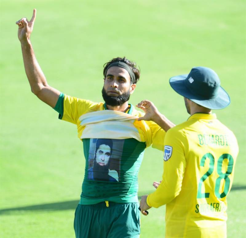 جنوبی افریقن کرکٹر عمران طاہر بھی نصرت فتح علی خان کے مداح
