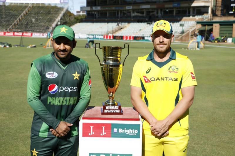 سہ ملکی ٹی 20سیریز فائنل: آسٹریلیا کی پاکستان کیخلاف ٹاس جیت کر بیٹنگ جاری