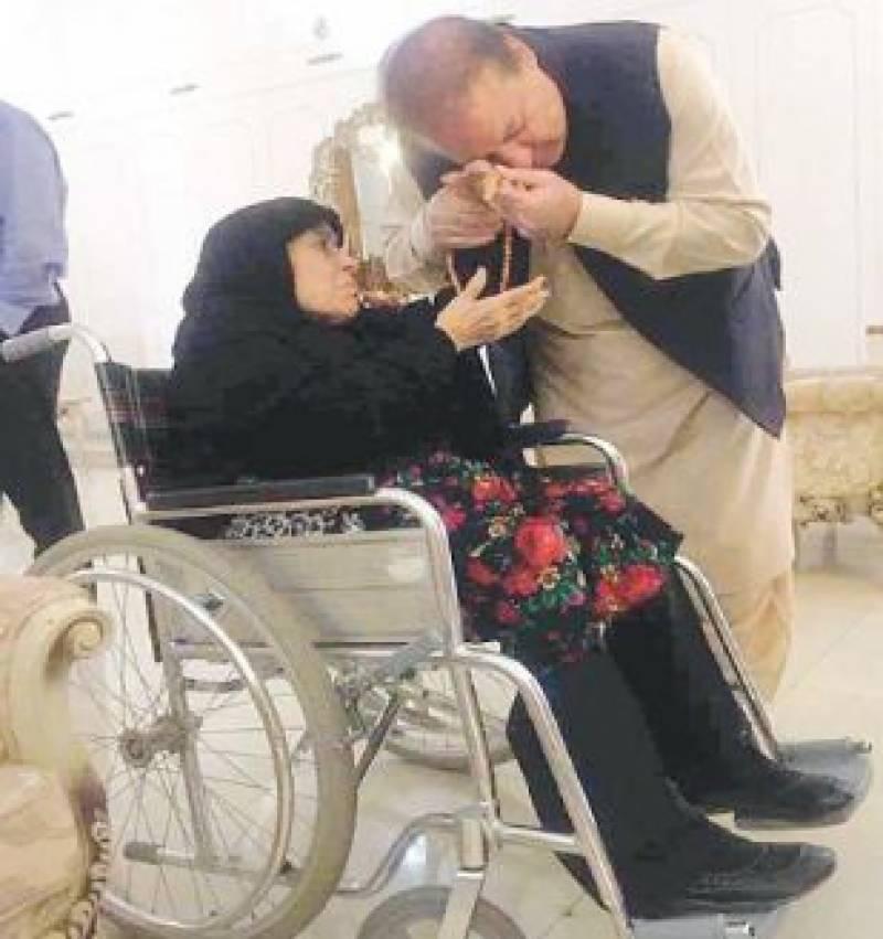 نواز شریف کو گرفتار نہیں ہونے دوں گی،سابق وزیراعظم کی والدہ کاایئرپورٹ استقبال کرنے کا فیصلہ
