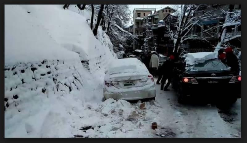 کوٹلی ،پہاڑی تودہ گاڑی پر گرنے سے 5افراد جاں بحق ،3زخمی