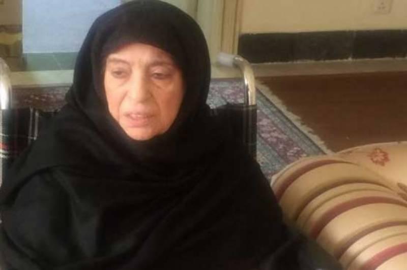 میرا بیٹا نواز شریف اور مریم جیل گئے تو میں بھی جیل جاﺅنگی :والدہ نواز شریف