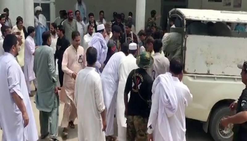 جمعیت علمائے اسلام (ف) کے کارکنوں کے قریب بم دھماکا، 4 افراد شہید