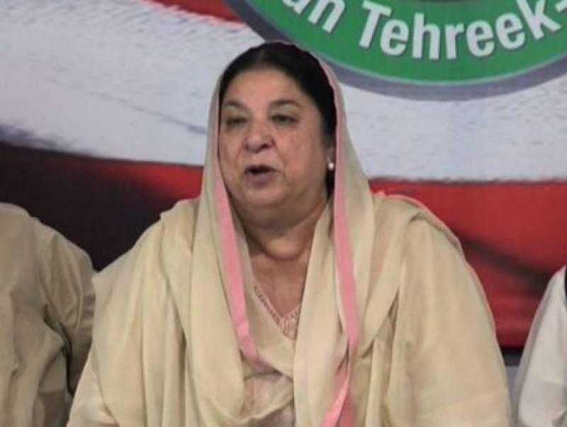 یاسمین راشد نے عمران خان کی جانب سے سیاسی کارکنوں کو 'گدھا' کہنے کو نامناسب قرار دیدیا