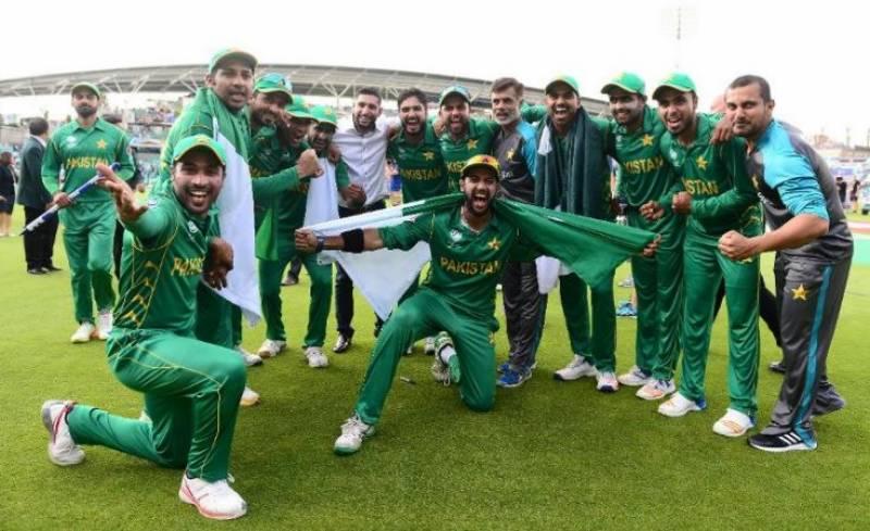 ون ڈے رینکنگ : پاکستان کی پانچویں پوزیشن برقرار