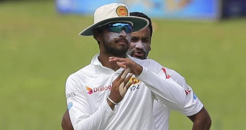 بال ٹیمپرنگ کیس، سری لنکن کپتان دنیش چندی مل معطل
