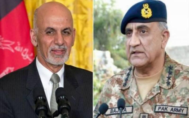 افغان صدر کاآر می چیف کوٹیلیفون پاکستان میں حالیہ دہشتگردی کے واقعات پر اظہار افسوس