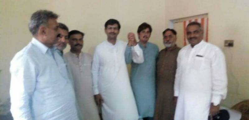 نارنگ منڈی میں جٹھول برادری نے پاکستان تحریک انصاف کے امیدوار وں کی حمایت کا اعلان کر دیا