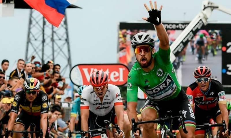 ٹور ڈی فرانس:سلواکیہ کے سائیکل سوار پیٹر سیگن نے 13واں مرحلہ اپنے نام کر لیا