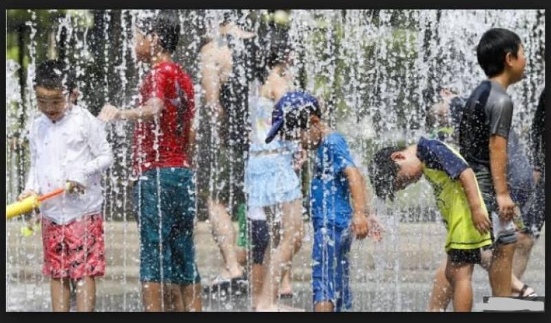 جاپان میں شدید گرمی کی لہر،12افرادہلاک،ہزاروں متاثر