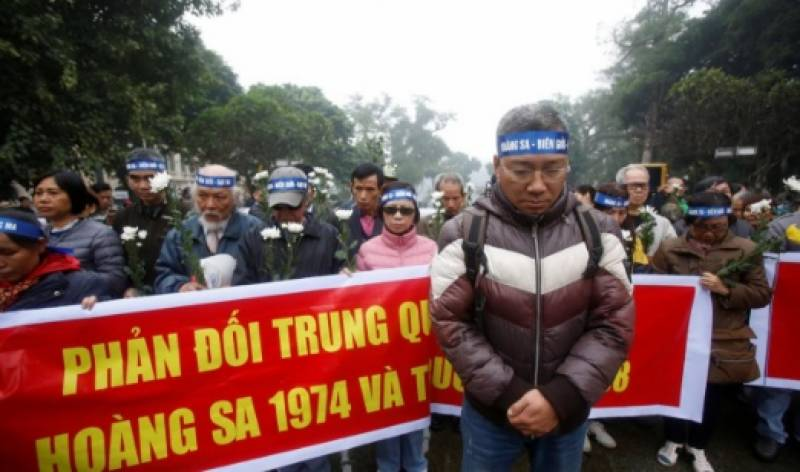 ویتنام میں 10 سیاسی مظاہرین کو جیل بھیج دیا گیا