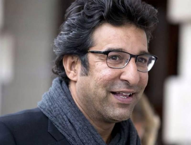 وسیم اکرم نے عمران خان کی حمایت میں ایک اور اہم اعلان کر دیا