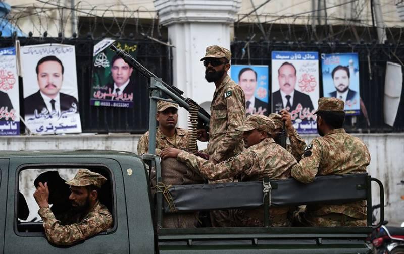این اے 271 بلیدہ میں پاک فوج کے جوانوں پر حملہ، 3 جوانوں سمیت 4 افراد شہید