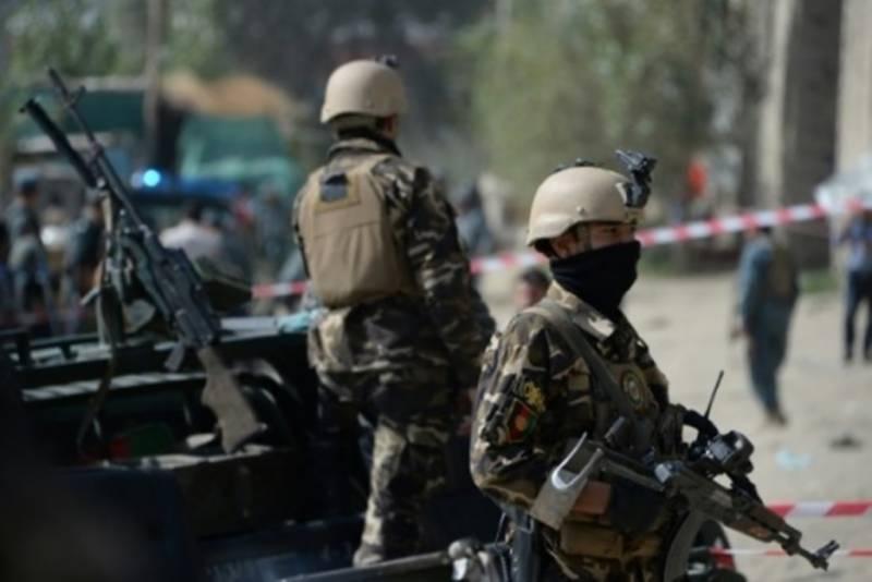 کابل میں خودکش دھماکے میں افغان فورسز کے 4 اہلکار ہلاک