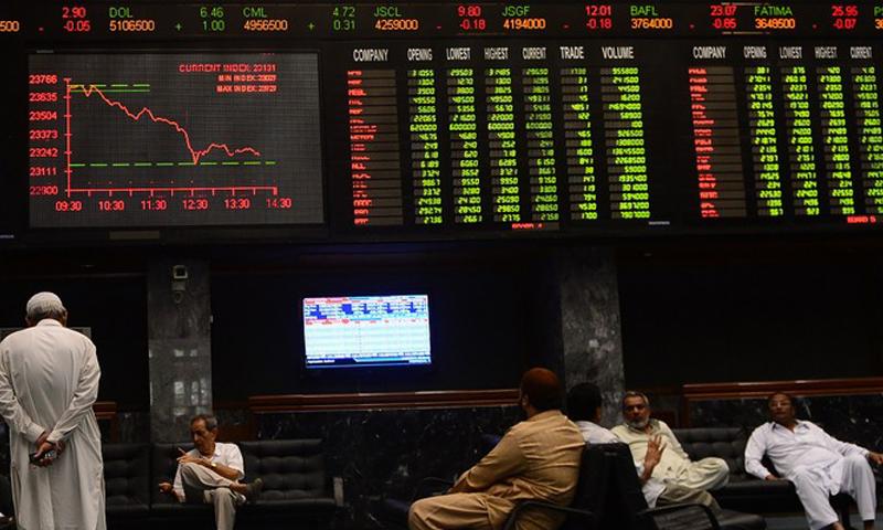پاکستان اسٹاک ایکسچینج میں تیزی، 749پوائنٹس کا اضافہ