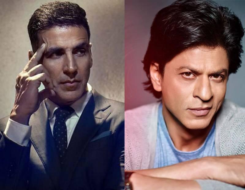 اکشے کمار کا شاہ رخ خان سے موازنہ کرنے پر صحافیوں کو کرارا جواب