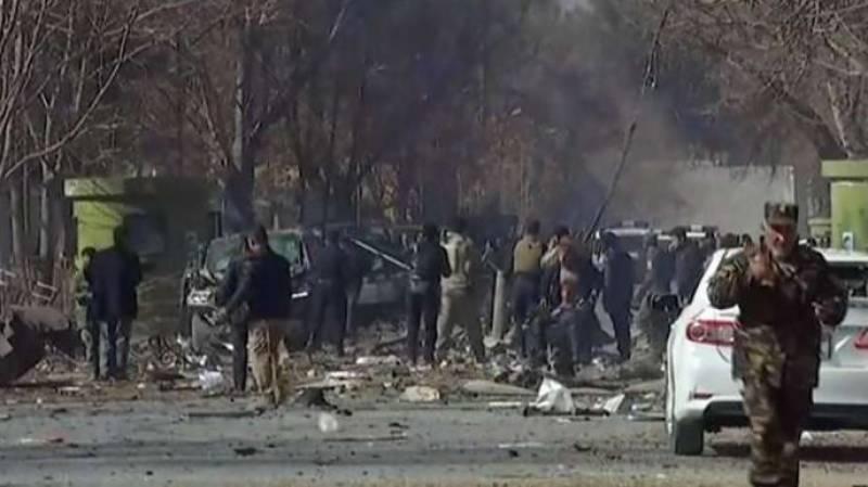 افغانستان جامع مسجد میں خودکش دھماکے ،20 افراد جاں بحق اور 12 زخمی