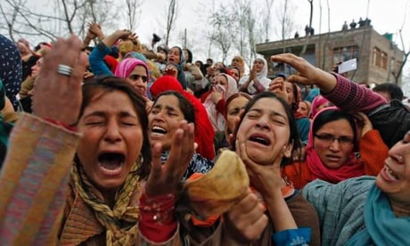 اب کوئی کشمیری بھارت کا حصہ نہیں بننا چاہتا، رپورٹ