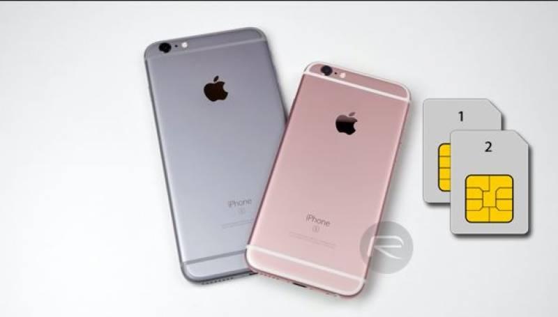 ایپل کےنئےماڈل کے سمارٹ فون میں ڈبل سم لگانے کی سہولت میسر