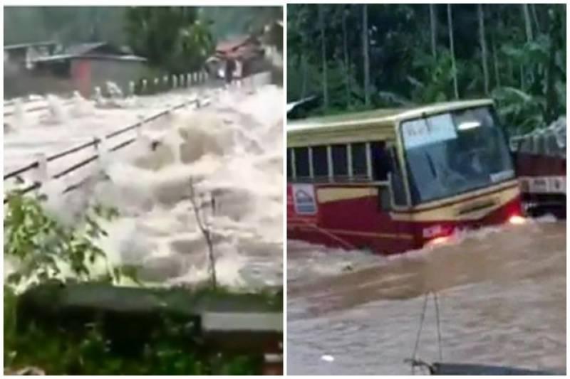 مون سون بارشوں نے بھارت کی بڑی ریاست میں تباہی مچا دی