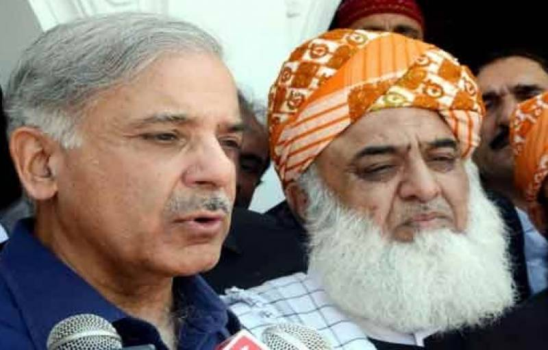 شہباز شریف، فضل الرحمن کے خلاف غداری کے مقدمے کی درخواست
