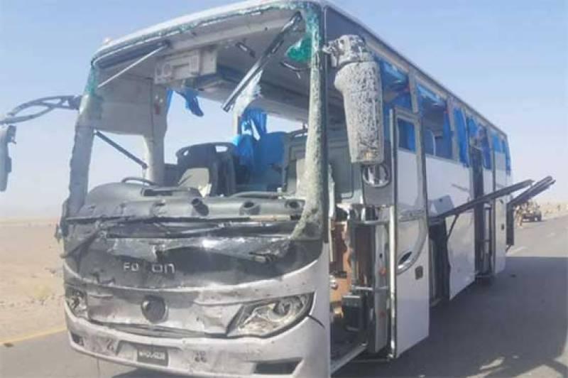 کوئٹہ: دالبندین کے قریب بس پر خود کش حملہ، 6 افراد زخمی