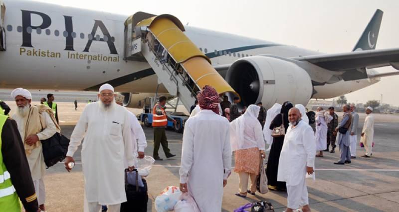 پی آئی اے کی خصوصی پرواز 70 عازمین حج کو چھوڑ کر سعودی عرب روانہ