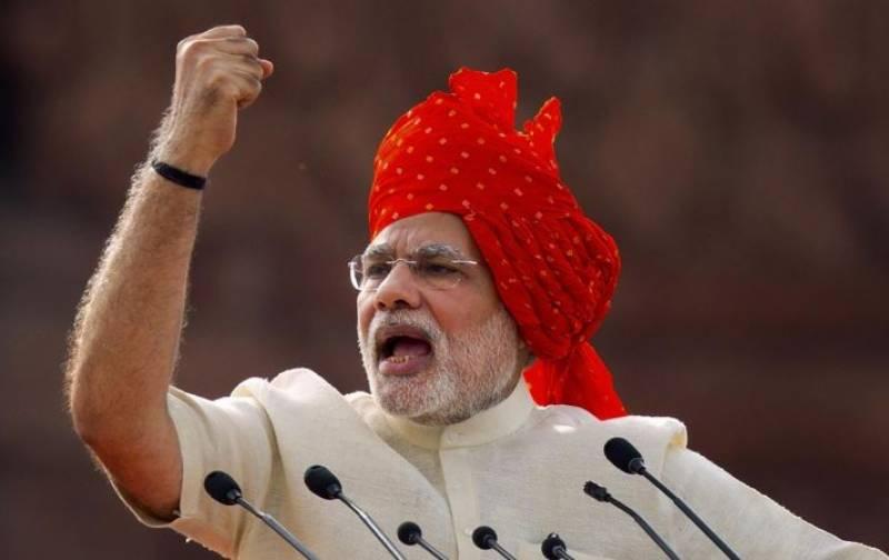 مودی کا بھارت کو خلا میں بھیجنے والی قوم بنانے کا وعدہ