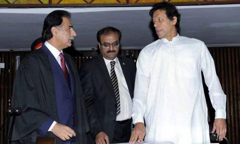 قومی اسمبلی کے اسپیکر کا انتخاب، عمران خان شناختی کارڈ بھول آئے