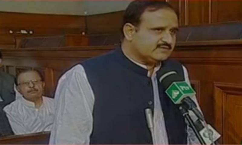 وزیراعلیٰ پنجاب عثمان بزدار نے اپنے عہدے کا حلف اٹھا لیا