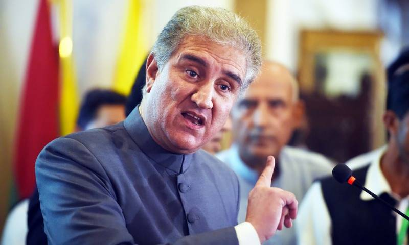 امریکی سٹیٹ ڈیپارٹمنٹ کا بیان حقیقت کے برعکس ہے : شاہ محمود قریشی