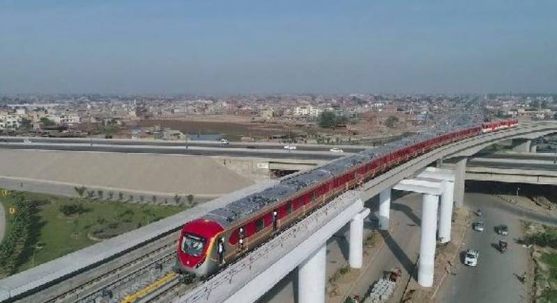 اورنج ٹرین منصوبہ بے یارو مددگار،تنخواہوں کی عدم ادائیگی سے عملہ کام چھوڑ کر چلا گیا