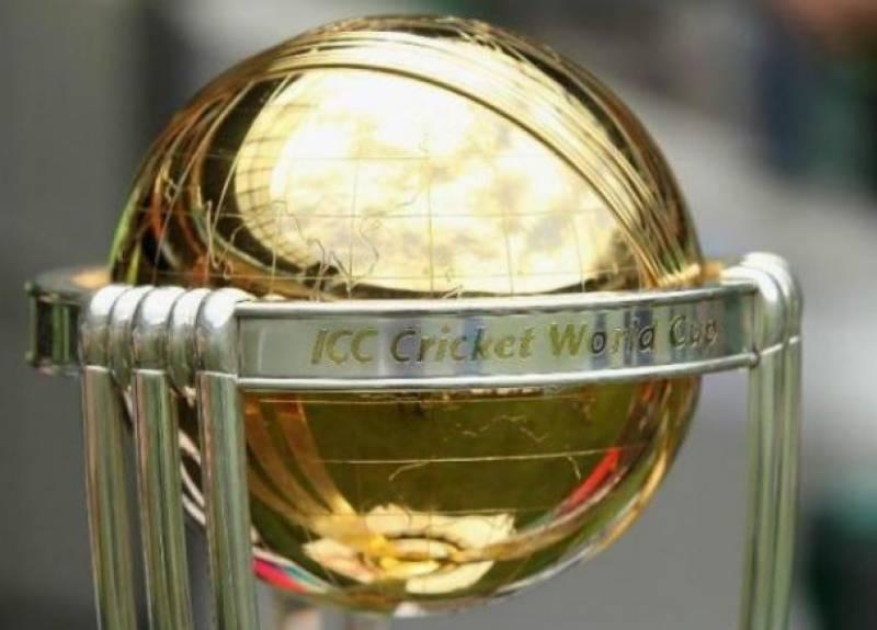 ورلڈ کپ ٹرافی3 اکتوبر کو نمائش کیلئے پاکستان لائی جائے گی