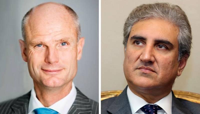گستاخانہ خاکوں کا معاملہ، شاہ محمود کا ہالینڈ کے وزیر خارجہ سے رابطہ