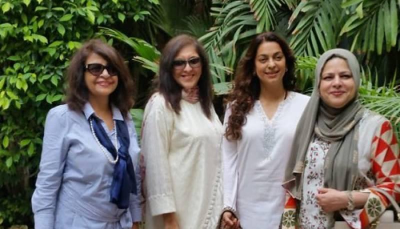 بھارت کی معروف اداکارہ جوہی چاولہ کی کراچی آمد