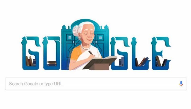 فاطمہ ثریا بجیا کے یوم پیدائش پر گوگل کا خصوصی ڈوڈل