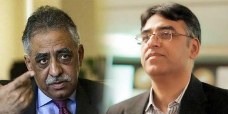 پٹرولیم مصنوعات کی قیمتیں، وزیر خزانہ اور سابق گورنر سندھ کے درمیان ٹویٹر پر نوک جھونک
