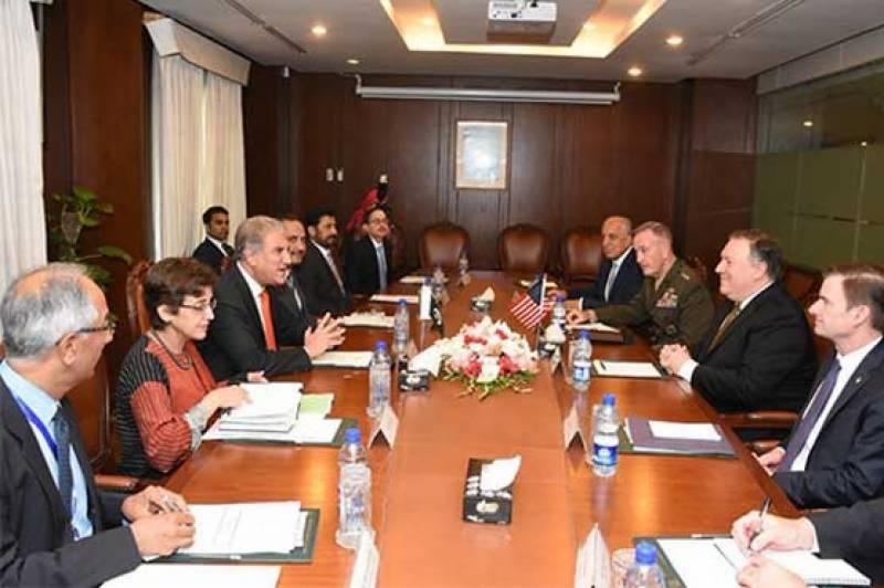 پاکستان اور امریکا کے درمیان وفود کی سطح پر دفتر خارجہ میں مذاکرات ختم