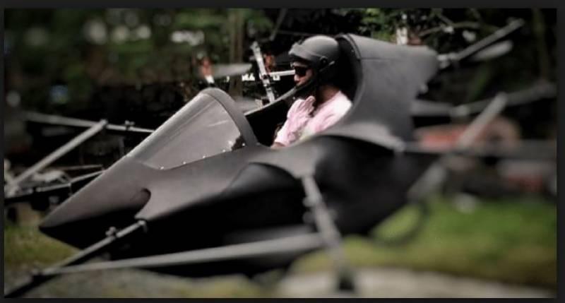 ایشیائی شہری نے اُڑنے والی کار بناکر سب کو حیران کر دیا