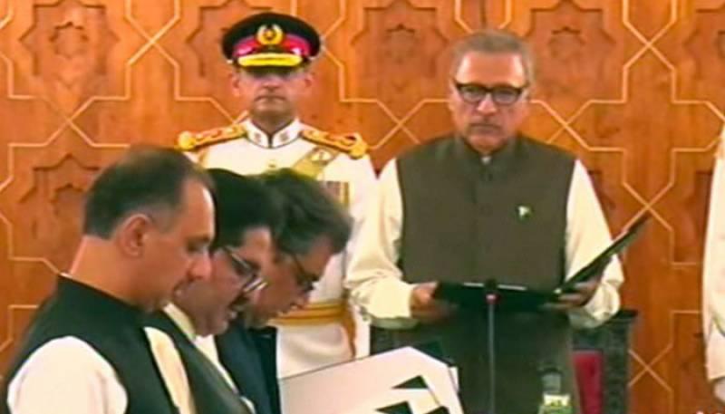 6 نئے وفاقی وزراء، وزرائے مملکت نے اپنے عہدوں کا حلف اٹھا لیا