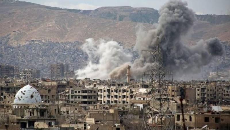 اسرائیل کا دمشق کے بین الاقوامی ہوائی اڈے پر میزائل حملہ