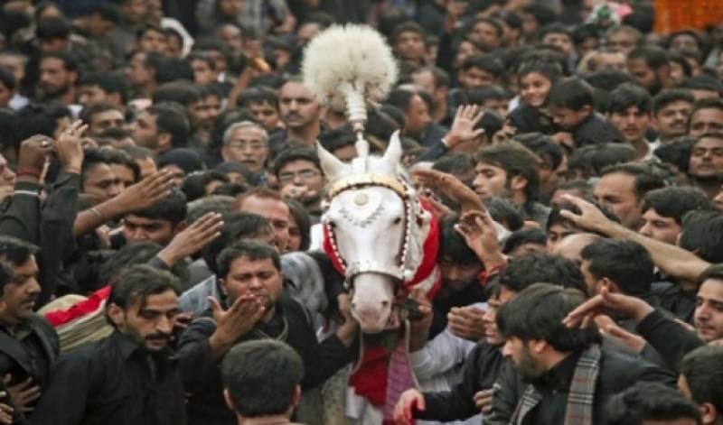 خیبر پختونخوا میں بھی یوم عاشور مذہبی جوش و جذبے ا ور عقیدت و احترام کے ساتھ منایا گیا