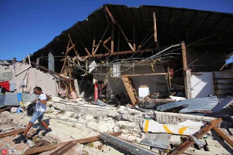 امریکا میں سمندری طوفان مائیکل نے 7 افراد کی جان لے لی